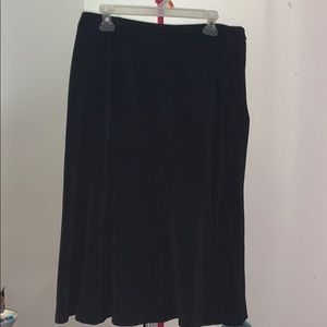 East 5th Pleated Knee Length Skirt